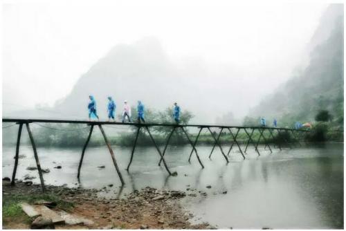 小木桥——《射雕英雄传》取景地