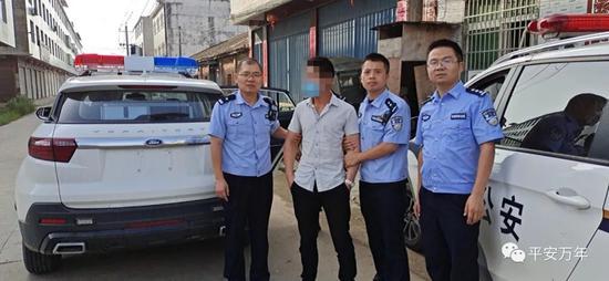 万年县一男子扬言报复杀人 警方紧急出动…