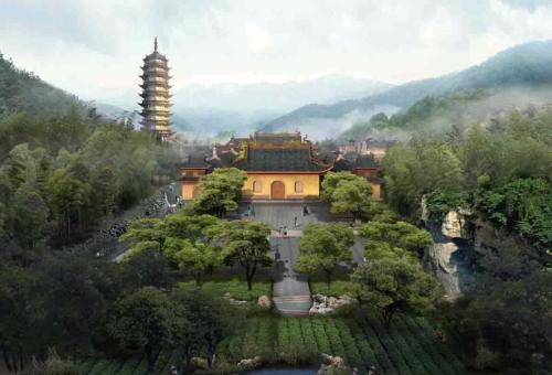 大佛寺——《倚天屠龙记》《天龙八部》拍摄地