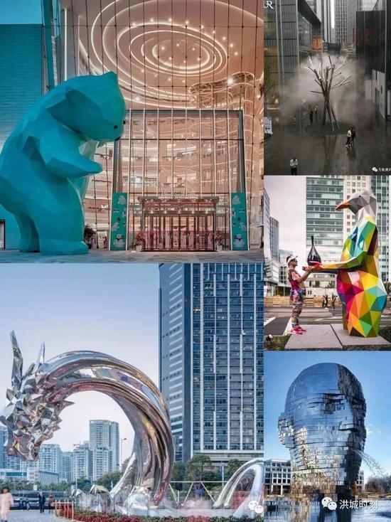 各城市的地标性公共雕塑