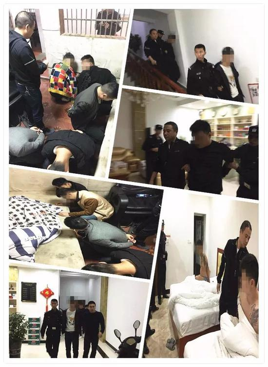 7名男子在江西彭泽县诈骗了35名中老年女性