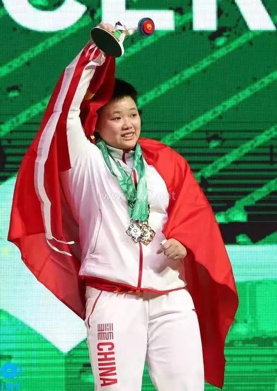 点赞!江西樟树女运动员首次斩获世锦赛冠军