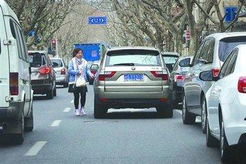 南昌新增38个路口电子警察 抓拍车辆违法停车