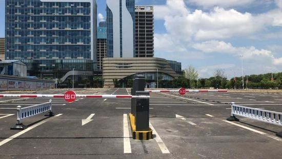 南昌建军雕塑广场停车场即将开放 提供360个停车位