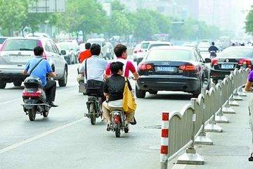 南昌整治隧道周边交通违法 查处非机动车违法149起