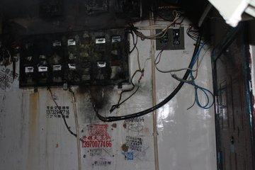 南昌一男子为报复 烧前女友家电表箱被关进看守所