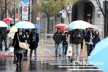 未来一周江西持续低温阴雨 8日晚九江有雪