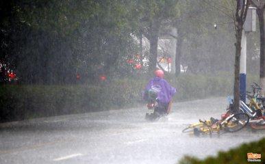 今起至23日江西连续暴雨 赣北发生洪涝灾害风险大