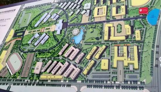 抚州职业技术学院整体规划图