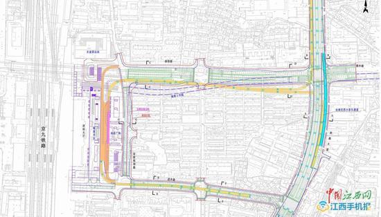 洪都大道高架将建1.3公里连接线进入南昌站