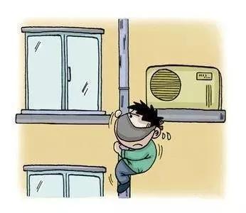 """新干一小偷化身""""蜘蛛人"""" 专挑不关窗户的住户下手!"""