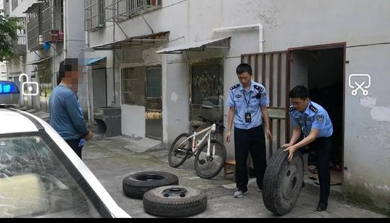 """武宁雨夜疯狂作案的""""轮胎大盗""""落网 涉案金额2万余元"""