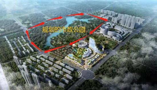 九龙湖市政公园规划图