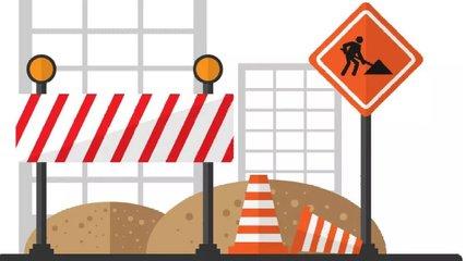 今日沪昆高速新余至宜春段因施工双向封闭