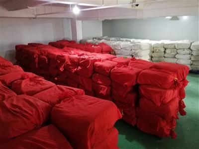普银仓库只有少量藏茶。