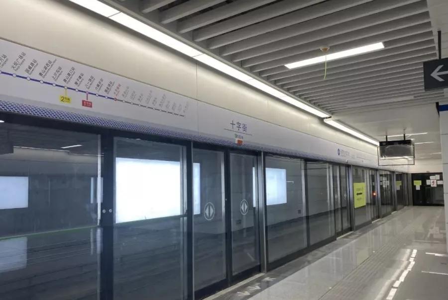 南昌地铁3号线下个月开通试运营 4号线施工进展…