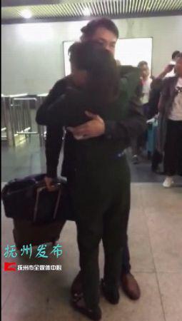杨仁荣的父亲杨崇生发给了记者