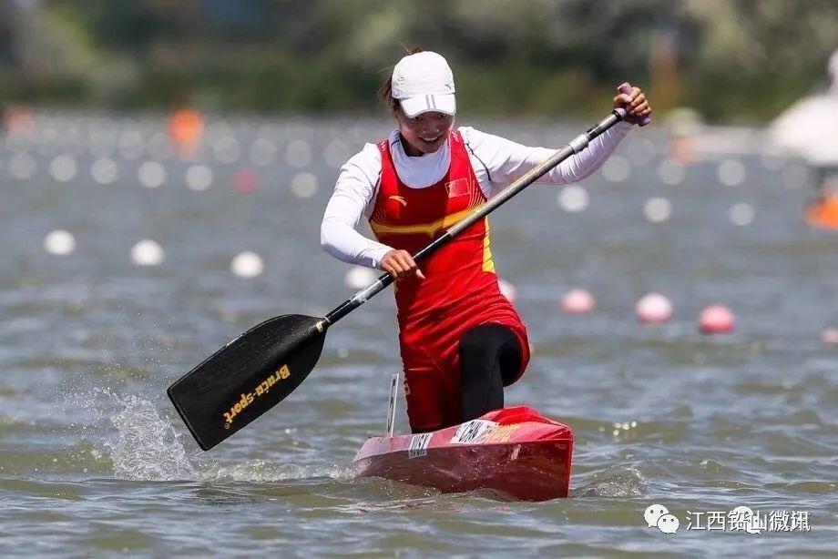 江西姑娘徐诗晓在2018年皮划艇世界杯匈牙利站夺冠