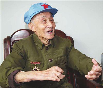 老红军杜宏鉴。 九江市老干部休养所 资料图