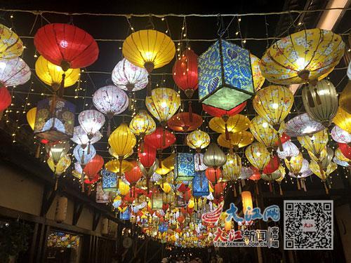 葛仙村景区夜游活动