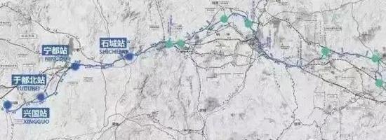 兴泉铁路线路图