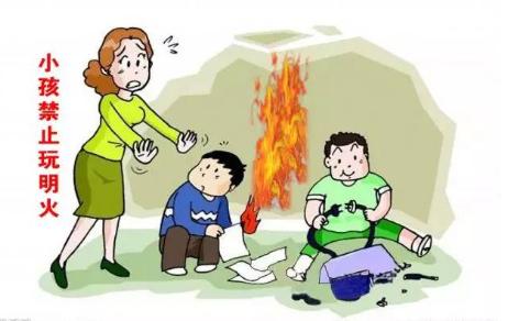 危险!萍乡一小孩玩火 烧了两辆汽车!