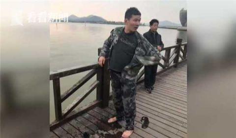 男子冬泳抽筋溺水 路过军人跳水救人获赞近百万