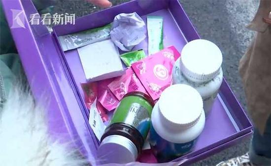 女子花上万元买保健品治病 吃了3天脸上长满痤疮