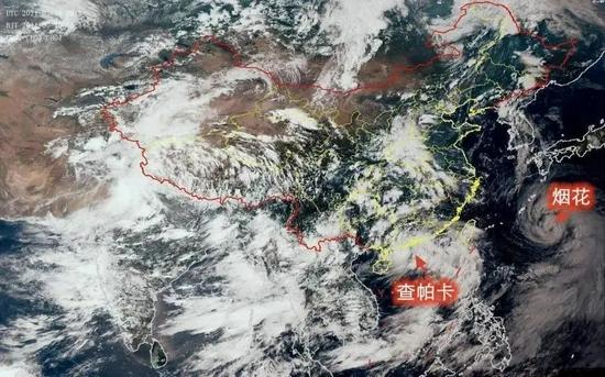 """台风""""查帕卡""""来了!对江西有哪些影响?"""