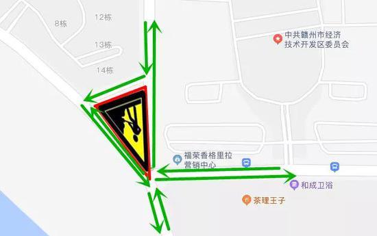 注意!赣州这个路口封闭施工15天