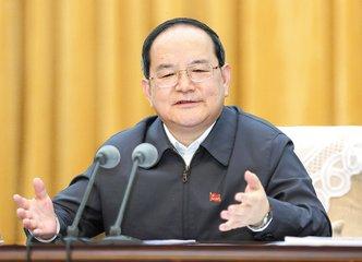 江西省代表团举行全体会议 鹿心社刘奇参加