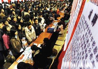 一季度南昌城镇新增就业24695人 困难群体就业2809人