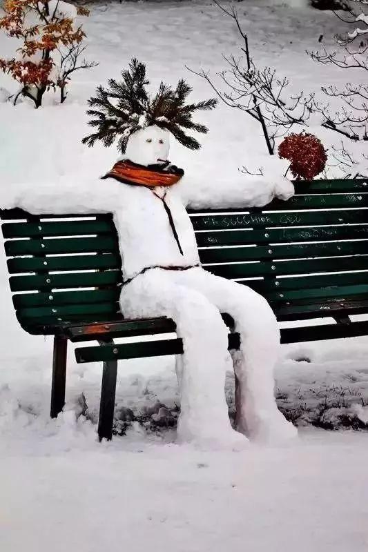 没有雪的冬天除了抖腿啥都不想干