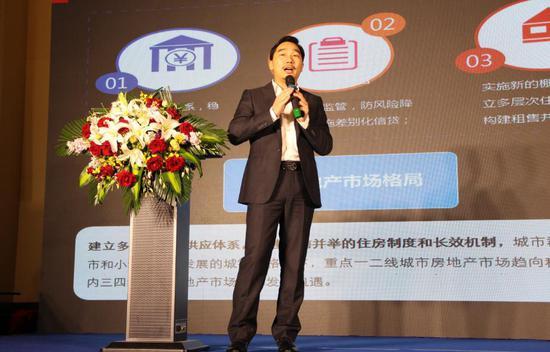 中国指数研究院华中分院总经理 胡超先生