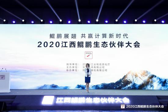 """""""鲲鹏展翅 共赢计算新时代""""2020江西鲲鹏生态伙伴大会举行"""