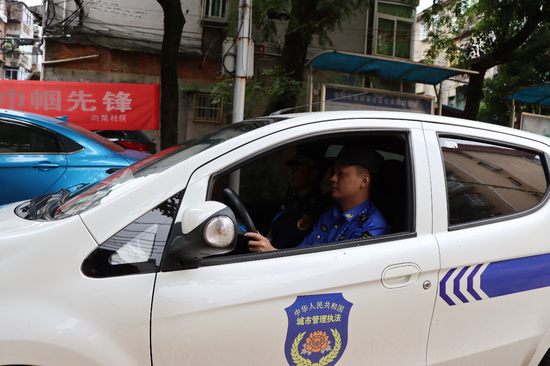 """南钢街道:综合执法队""""十二时辰"""""""