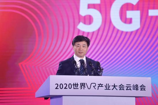 中国电信董事长柯瑞文:5G+云网 助力VR产业发展