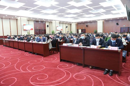 南昌市青年企业家协会七届一次会员大会召开 严允出席并讲话