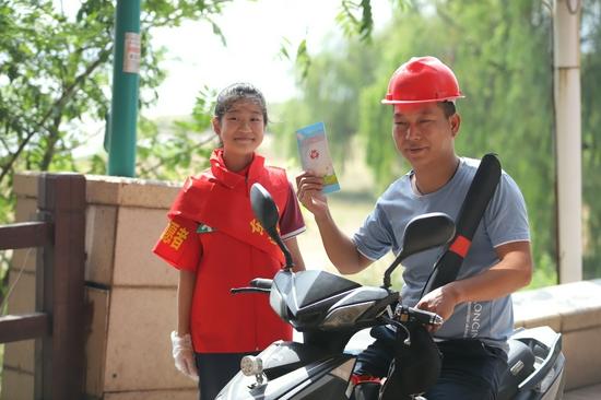 """积极倡导文明创建 为市民带来""""绿色套餐""""——南昌市家庭文明志愿服务活动正式启动"""