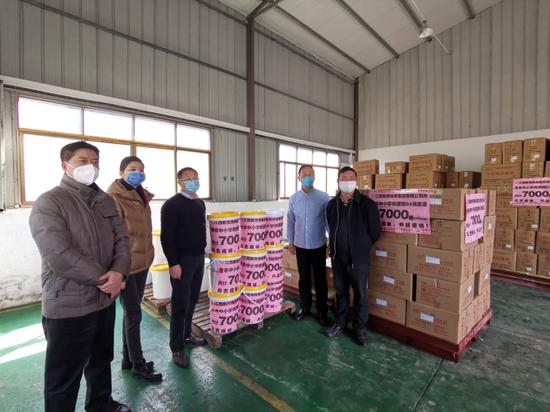 江西教育传媒集团向全省中小学捐赠7000桶84消毒液