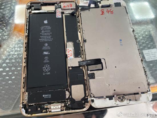 网友投诉拼多多:买到的苹果手机是翻新机