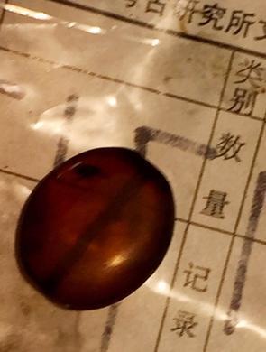 南昌西汉大墓主椁室出土精美琥珀