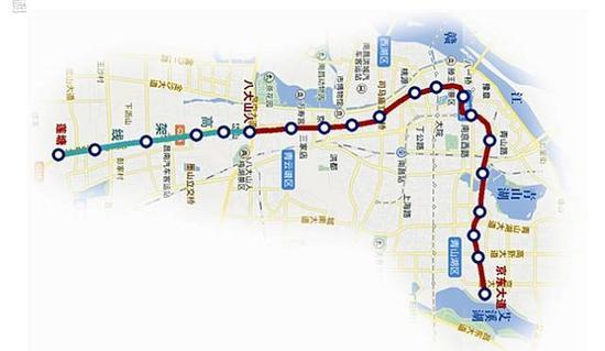 南昌地铁3号线是否修改了规划图片