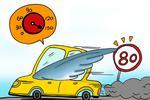 今年以来江西查处超速61万起 吊销驾照2317本