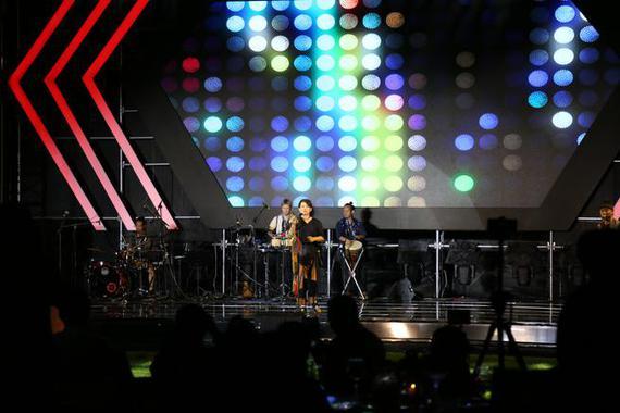 现场嘉宾:中国好歌曲 山人乐队
