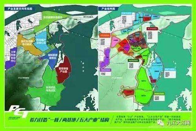 九江建设鄱阳湖生态科技城 位于城东、濂溪区境内