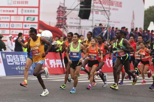明升体育国际马拉松首推个性化号码布 超2.5万人报名