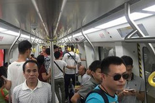 地铁2号线(首通段)开通3日 客流破百万