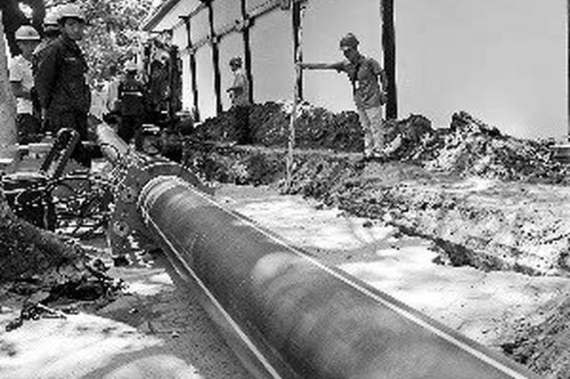 明升体育累计完成老旧燃气铸铁管网改造337余公里