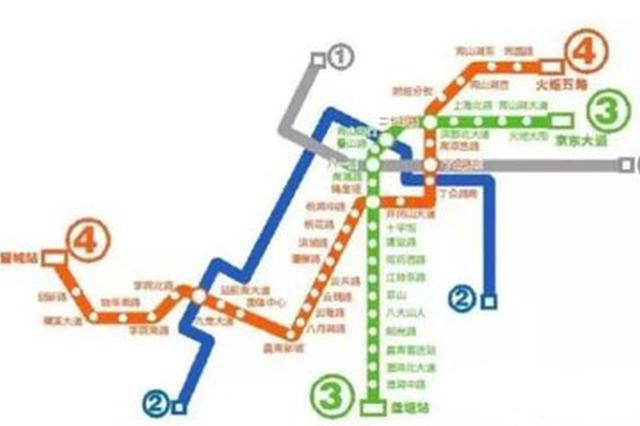 明升体育地铁3号线最快2020年6月左右通车